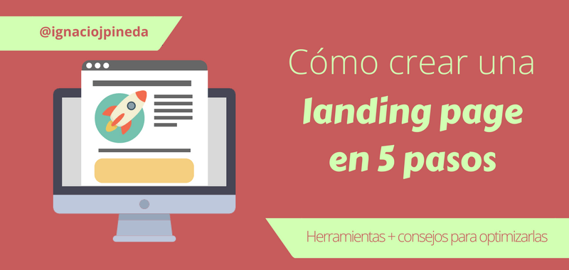 Crear Landing Pages